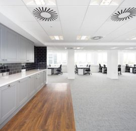 Landmark's Euston House London 8th Floor Refurbishment