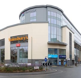 Travelodge and Sainsbury's Redhill, Mixed Development