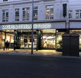 Marks and Spencer's Clapham, London