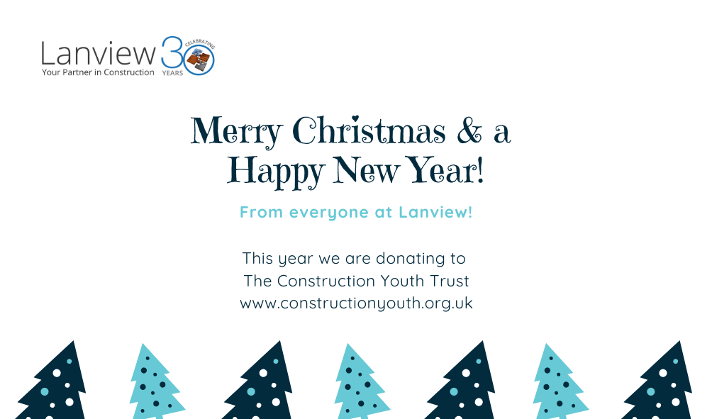 , Merry Christmas & a Happy New Year from all of us at Lanview