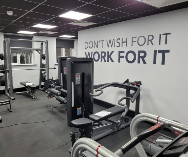 Sherbourne House Student Accommodation gym